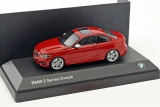 BMW 2 Series Coupe (F22) 2014 red 1:43 Minichamps