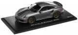 Porsche 911 Turbo S Exclusive Serie grey 1:18 Spark