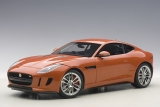 Jaguar F Type R Coupe 2015 orange 1:18 AUTOart