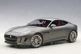 Jaguar F Type R Coupe 2015 matt grey 1:18 AUTOart