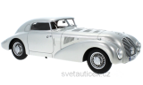 Mercedes 540 K W29 Streamline Car 1938 silver 1:18 Bos Models