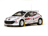 Peugeot 207 S2000 #7 F.Stohl/I.Minor Rally Portugal 2008 1:18 Sun Star