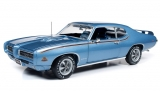 Pontiac GTO Judge *MCACN* 1969 blue 1:18 Auto World