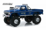 Ford F-250 Monster Truck with 48-Inch Tires Bigfoot #1 Kings of Crunch 1974 1:18 Greenlight