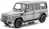 Mercedes-Benz G-Classe 2015 platin magno 1:18 iScale
