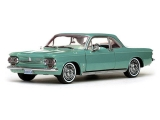 Chevrolet Corvair coupe 1963 green 1:18 Sun Star