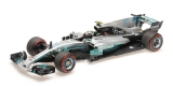 Mercedes AMG Petronas F1 Team F1 V.Bottas 2nd Mexican GP 2017 1:18 Minichamps