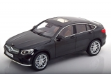 Mercedes-Benz GLC Coupe 2018 black 1:18 iScale
