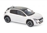 Peugeot 208 GT Line 2019 pearl white 1:43 Norev