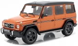 Mercedes-Benz G63 AMG 2017 sunsetbeam orange 1:18 iScale