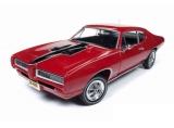 Pontiac GTO Royal Bobcat 1968 red/black 1:18 Auto World