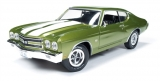 Chevrolet Chevelle SS 1970 green 1:18 Auto World
