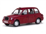 London Taxi cab TX1 1998 red 1:18 Sun Star