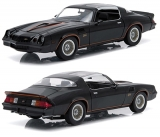 Chevrolet Camaro Z/28 1978 black 1:18 Greenlight