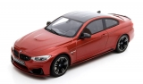 BMW M4 M Performance orange-metallic/carbon 1:18 GT Spirit