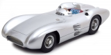 Mercedes-Benz W196 Plain Body Version 1954 silver 1:18 CMR