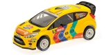 Ford Fiesta RS WRC Stobart, Solberg Wales Rally GB 2011 1:18 Minichamps