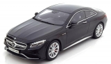 Mercedes-AMG S63 Coupé 2015 black 1:18 GT Spirit