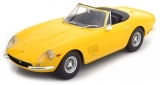 Ferrari 275 GTB/4 NART Spider 1967 yellow 1:18 KK Scale