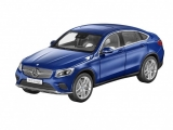 Mercedes-Benz GLC Coupé C253 blue 1:18 iScale