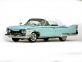 Plymouth Fury Closed Convertible 1960 blue 1:18 Sun Star
