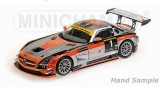 Mercedes Benz SLS AMG GT3 Team Heico Heyer 24H Nürburgring 2012 1:18 Minichamps