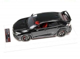 Honda Civic R LHD 2017 shinny black 1:18 Motorhelix