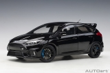 Ford Focus RS 2016 shadow black 1:18 AUTOart