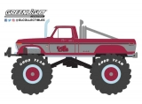 Ford F-250 Monster Truck with 66-Inch Tires *Kings of Crunch 3* 1975 red/grey 1:43 Greenlight