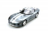 Dodge Viper GTS 1996-2002 silver 1:18 LS Collectibles