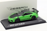 Porsche 911 (991) GT3 RS Weissach package 2018 lizard green 1:43 Minichamps
