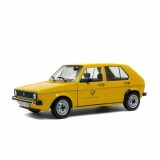 "Volkswagen Golf ""Deutsche Bundespost"" yellow 1:18 Solido"