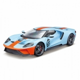 Ford GT 2017 #9 Gulf 2017 blue 1:18 Maisto Exclusive