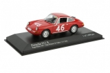 Porsche 911 #46 Cahier/ Killy Class Winners Targa Florio 1967 1:43 Minichamps