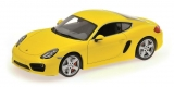 Porsche Cayman 2012 yellow 1:18 Minichamps