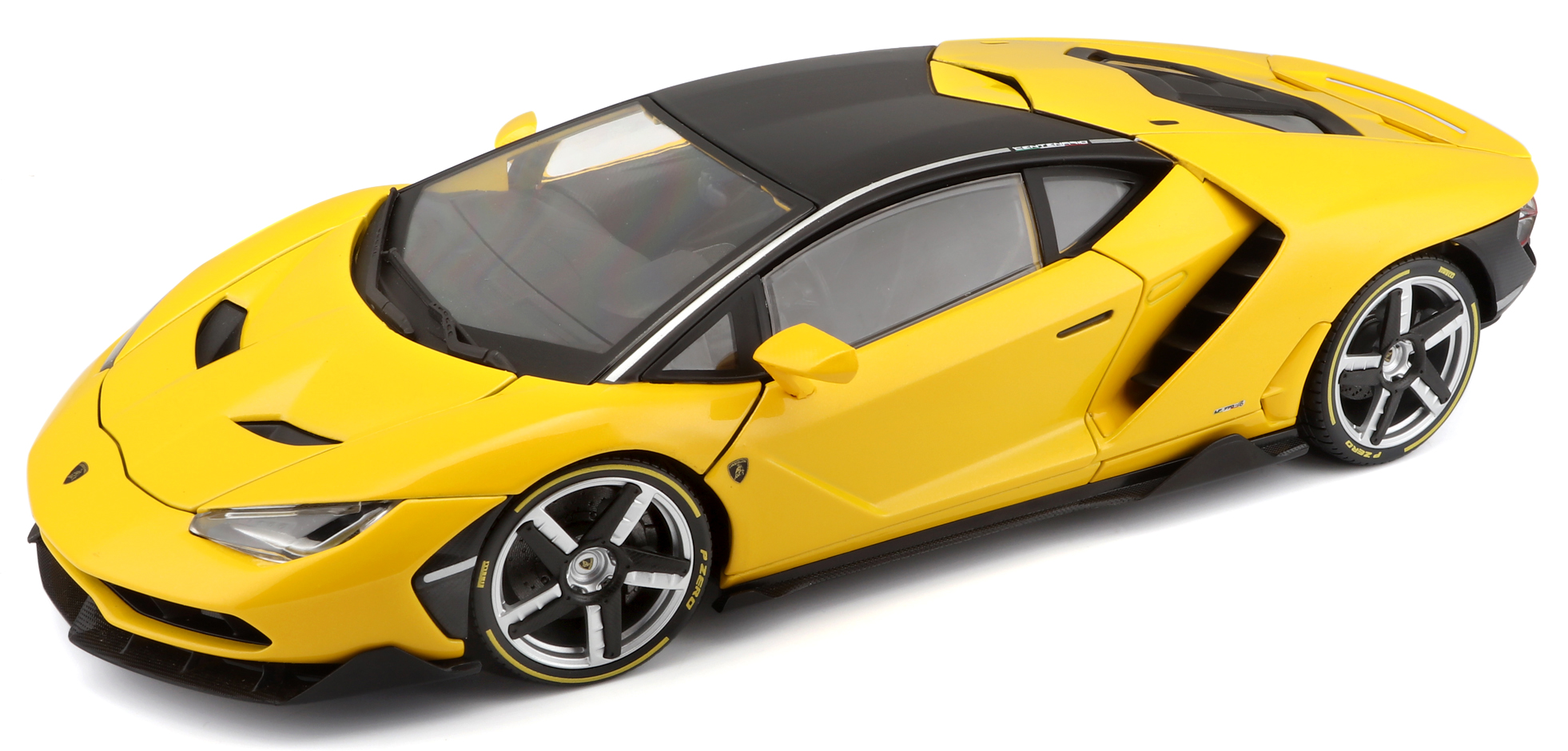 Lamborghini Centenario 2016 yellow 1:18 Maisto Exclusive