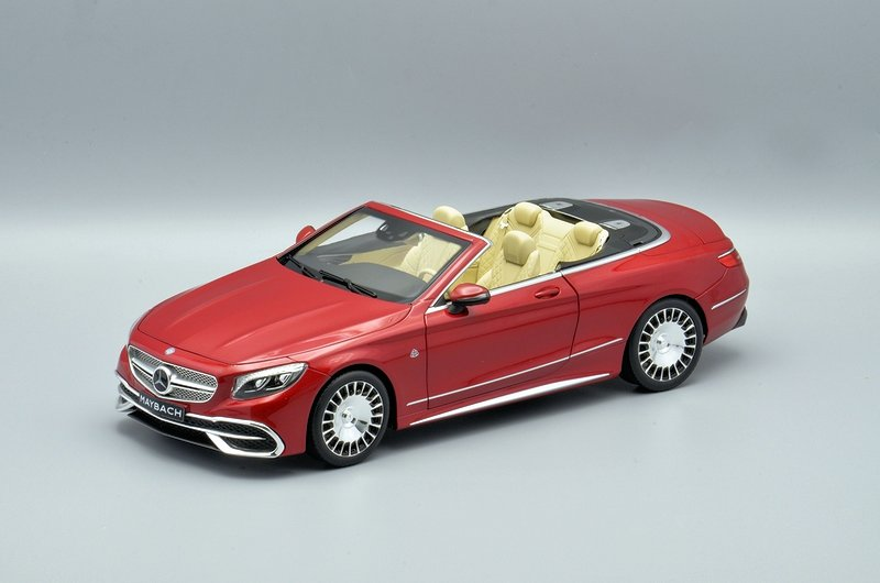 Mercedes-Maybach S650 Cabriolet red 1:18 Norev