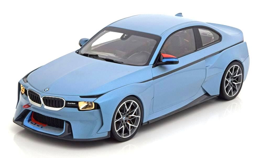 BMW 2002 Hommage Iceblue 1:18 Norev