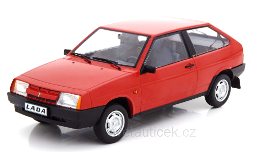Lada Samara red 1:18 KK Scale