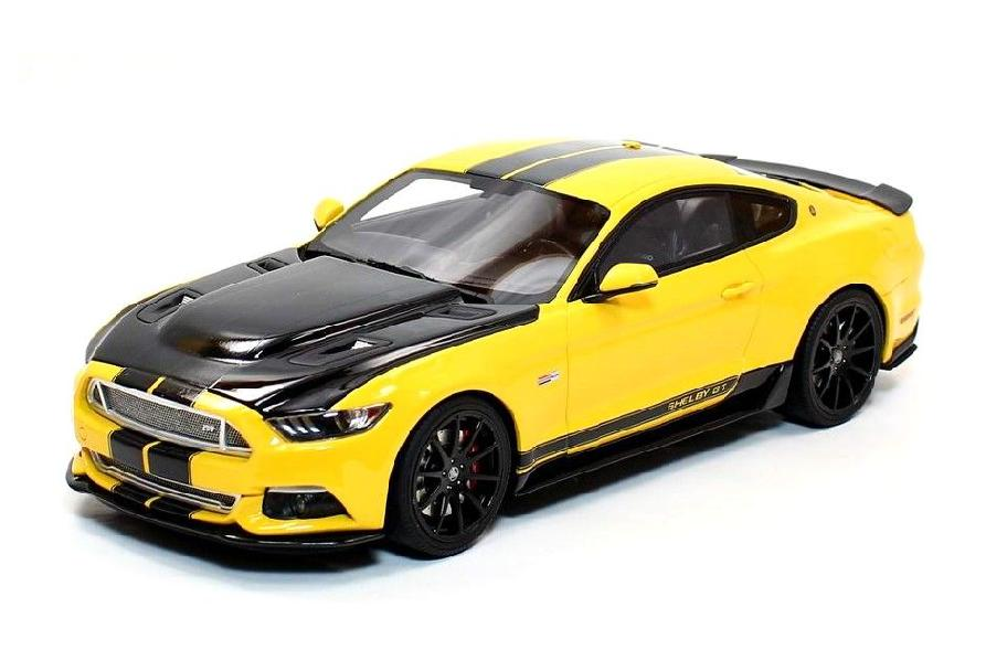 Shelby GT 2015 yellow/black 1:18 GT Spirit