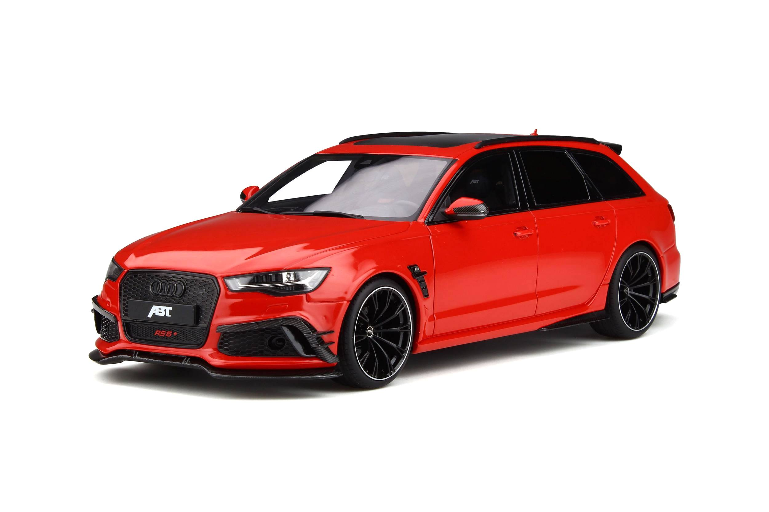 Audi ABT RS6+ 2017 red 1:18 GT Spirit