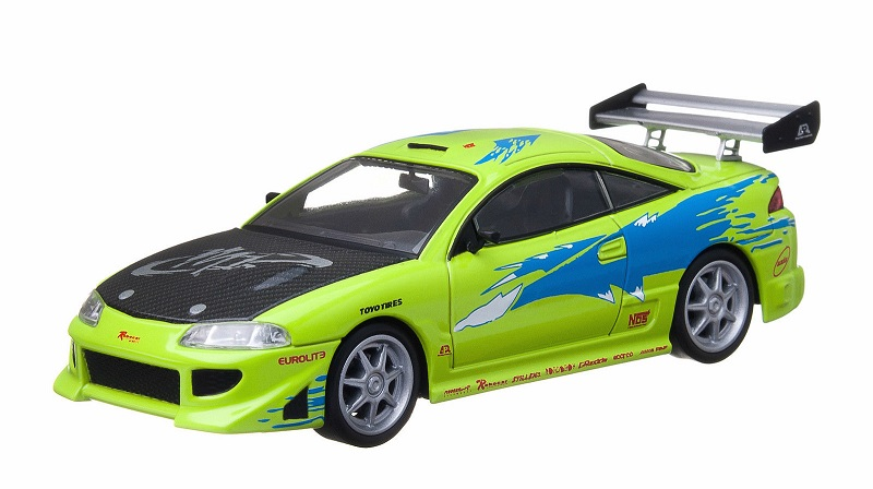 Mitsubishi Eclipse 1995 *Fast & Furious* 1:18 Greenlight