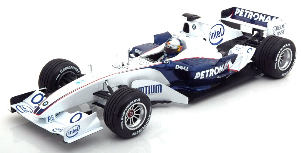 BMW Sauber C24B S.Vettel BMW World Final Valencia F1 2006 1:18 Minichamps