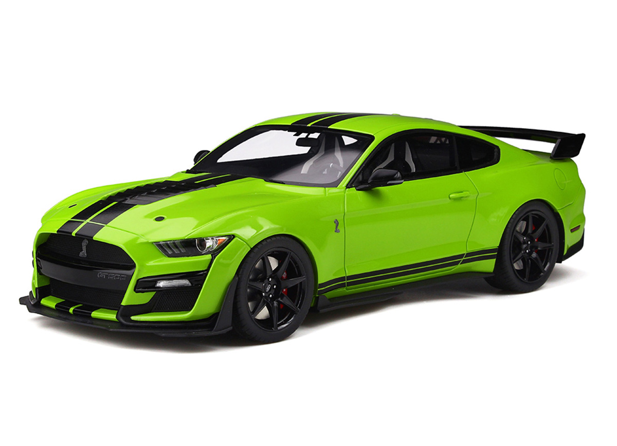 Ford Shelby GT500 grabber lime 1:18 GT Spirit