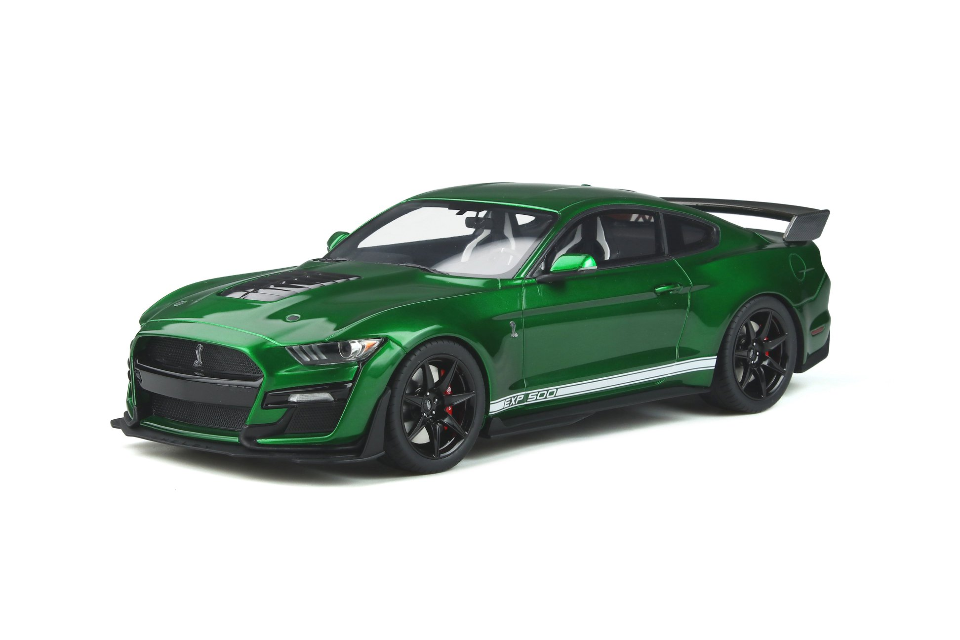 Ford Shelby GT500 2020 candy apple green 1:18 GT Spirit