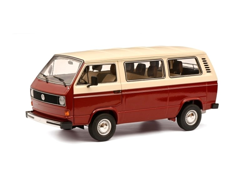 Volkswagen T3a Bus red/white 1:18 Schuco
