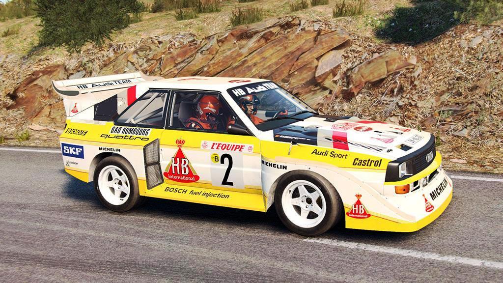 audi sport quattro s1 2 rallye monte carlo 1986 1 18 ixo. Black Bedroom Furniture Sets. Home Design Ideas