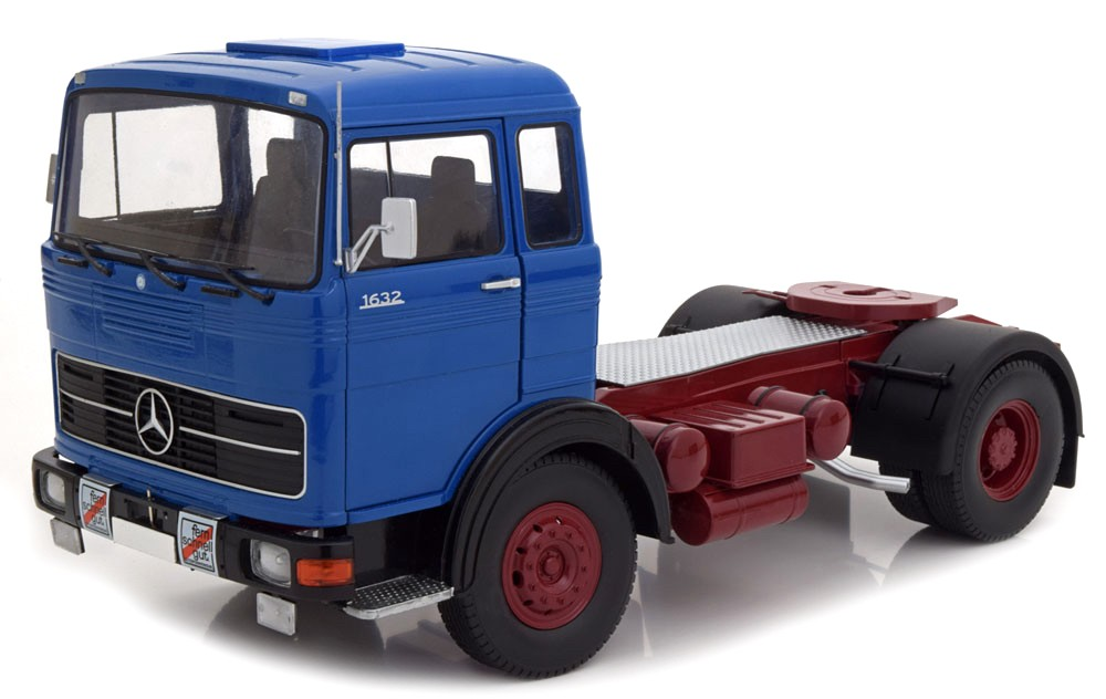 Mercedes-Benz LPS 1632 1969 blue/red 1:18 Road Kings
