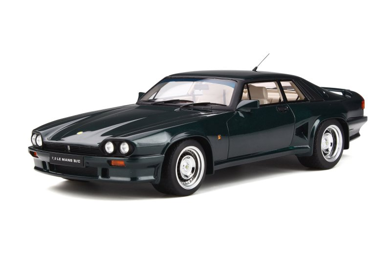 Lister 7.0 Le Mans S/C British racing green 1:18 GT Spirit