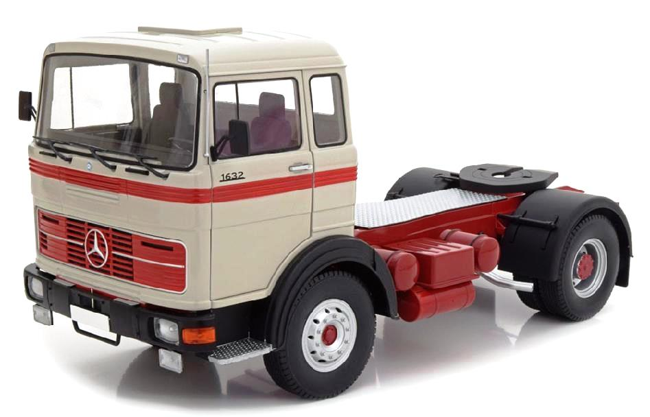 Mercedes-benz incompletos LPs 1632 Gray//Red//Black Road Kings 1:18 1969